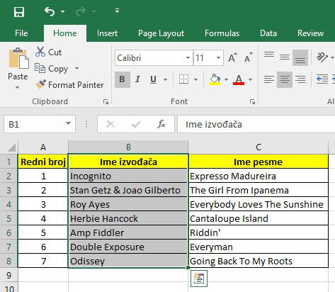 excel-office-kako-selektovanje-kolone
