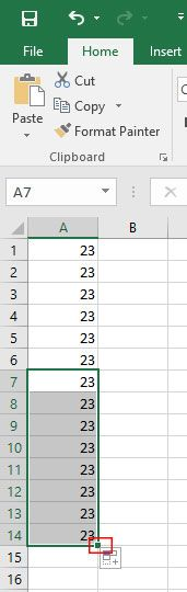 Office Excel automatsko popunjavanje