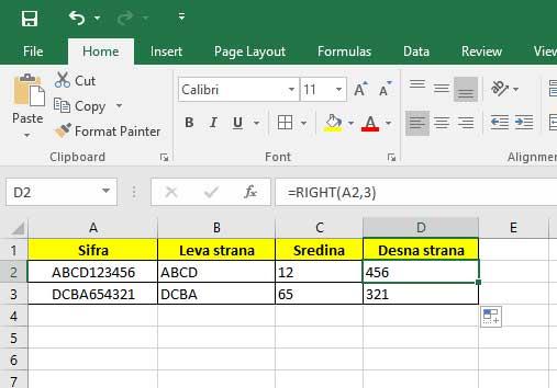 office-excel-desna-strana-izdvajanje-podataka-iz-celije
