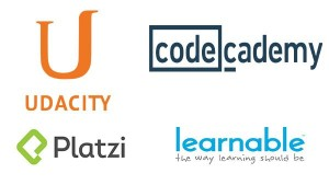 udacity platz learnable codecademy ucenje online