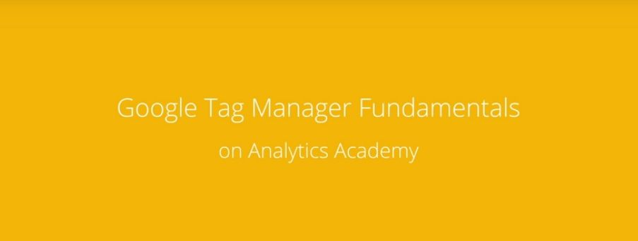 google tag manager analytics academy kurs