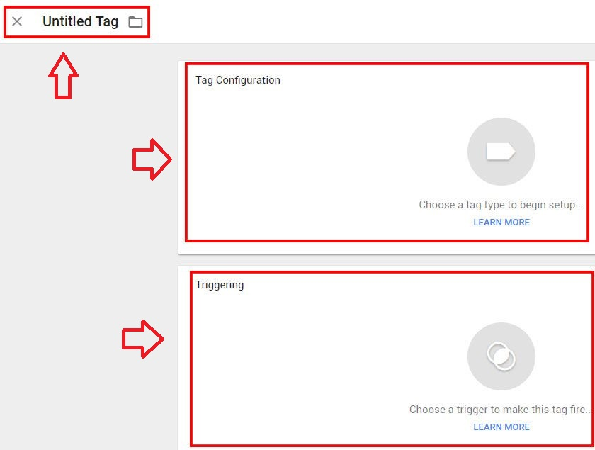 google analytics via google tag manager tag config